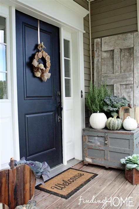 images  front door fall decorating ideas