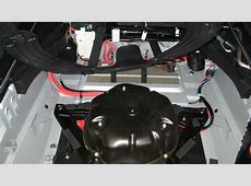 How to disconnect battery when lpg tank fitted