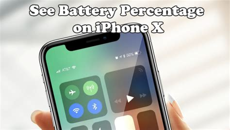how to display battery percentage on iphone how to display battery percentage on iphone x
