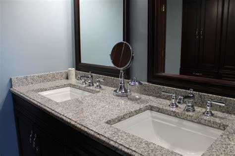 Best Undermount Bathroom Sinks For Granite Countertops Sink Bathroom Granite Countertop Color Pearl