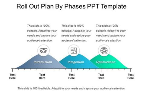 roll  plan  phases  template powerpoint