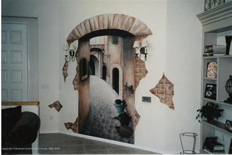 how to paint a mural on a bedroom wall wall and painted murals interior design