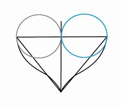 Heart Draw Broken Hearts Drawing Drawings Easy