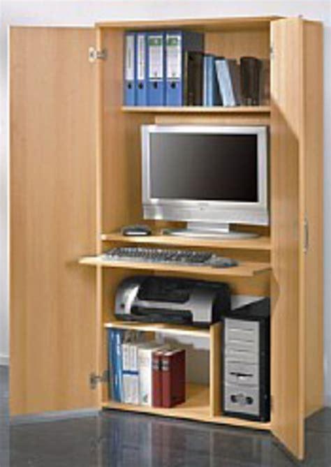 Mini Büro Im Schrank by Pc Schrank H 246 He Ca 161 Cm Kaufen Otto