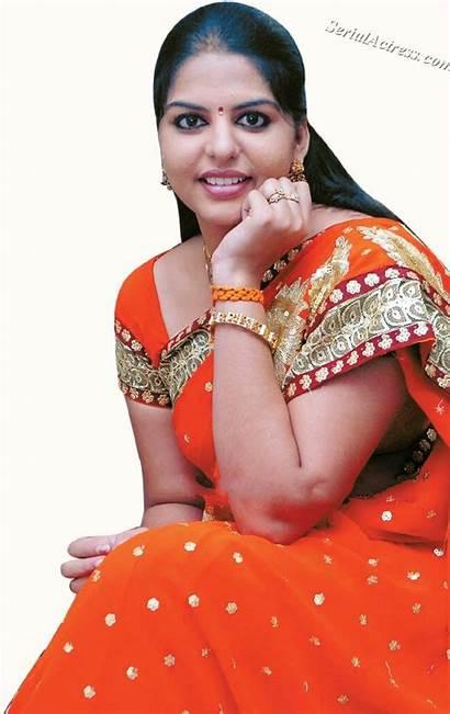 Serial Actress Thendral Actors Srividya Kannada Saubhagyavati
