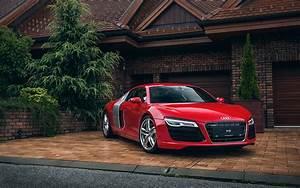 Audi R8 Red Wallpaper