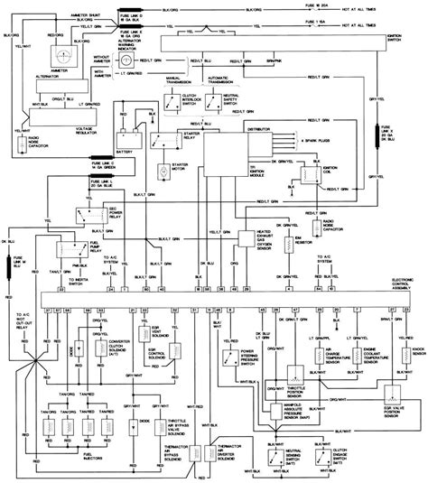 95 Ford Ranger Wiring Diagram by Wrg 1299 1987 Ford Ranger Wiring Diagram Schematic