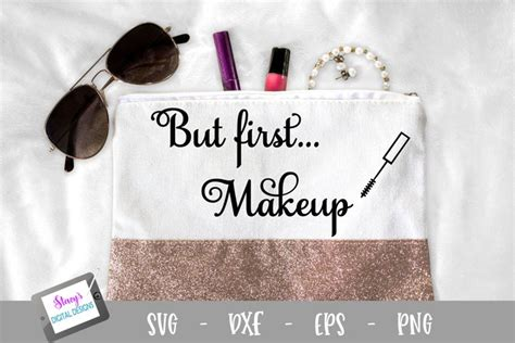 makeup svg makeup bag svg  cut files design bundles