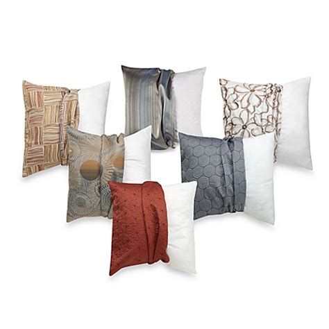 bed bath and beyond sofa pillows make your own pillow square throw pillow insert and cover