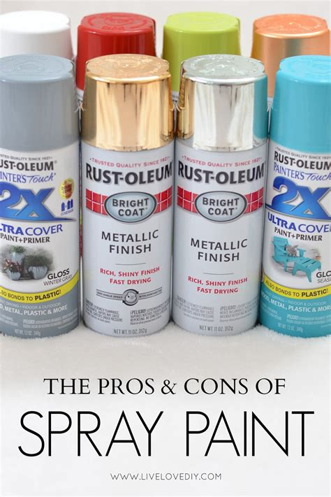 spray paint tips 10 things you should know about spray paint