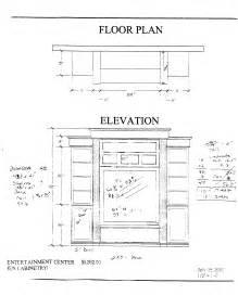 entertainment centers plans easy  follow   build
