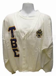 tau beta sigma greek letter cardigan with crest white With greek letter cardigan sweaters