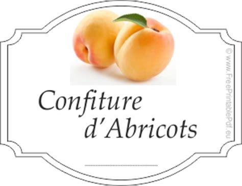 201 tiquettes pour confiture d abricot gratuit gratuit pdf imprimable etiquette 224 imprimer