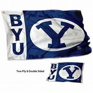 BYU Double Sided 3x5 Flag your BYU Cougars Stadium Flag source