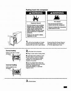 Kenmore 66513601790 User Manual Compactor Manuals And