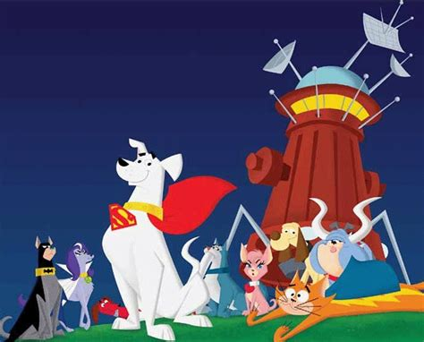 dog star patrol krypto  superdog dc comics
