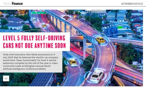 It's your call… or email. Level 5 fully self-driving cars not due anytime soon ...