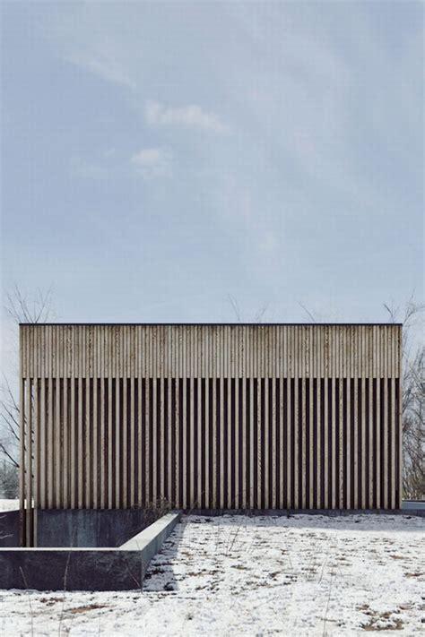 Beton Holz Fassade by Die Besten 25 Fassade Holz Ideen Auf
