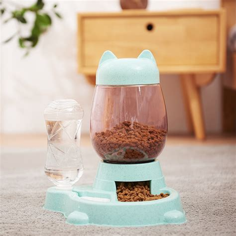 Whatever pet water bottle styles you want, can be easily bought here. 2.2L Pet Dog Cat Automatic Feeder Bowl for Dogs Drinking ...