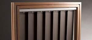 Store à Lamelles Verticales : store a lamelle verticale decoration store lamelle bois ~ Premium-room.com Idées de Décoration