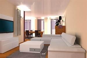 Décoration Intérieure Salon : decoration interieur salon chaleureux ~ Teatrodelosmanantiales.com Idées de Décoration