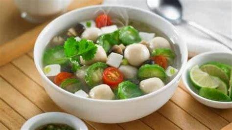 Temukan berbagai resep sayuran yang sehat dan lezat di sini. Resep Sayur Sop - Makanan Khas Indonesia