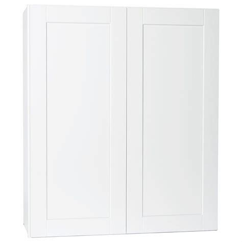 white kitchen wall cabinets hton bay shaker assembled 36x42x12 in wall kitchen 1416