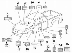 Gmc Sierra 1500 Engine Decal  Engine Harness  Information