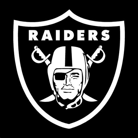 oakland raiders decal vinyl sticker football car truck