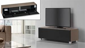 Tv Lowboard Glas : lowboard soundconcept maja glas sand matt mit soundsystem ~ Orissabook.com Haus und Dekorationen