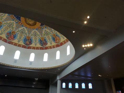 high ceiling church led premier lighting