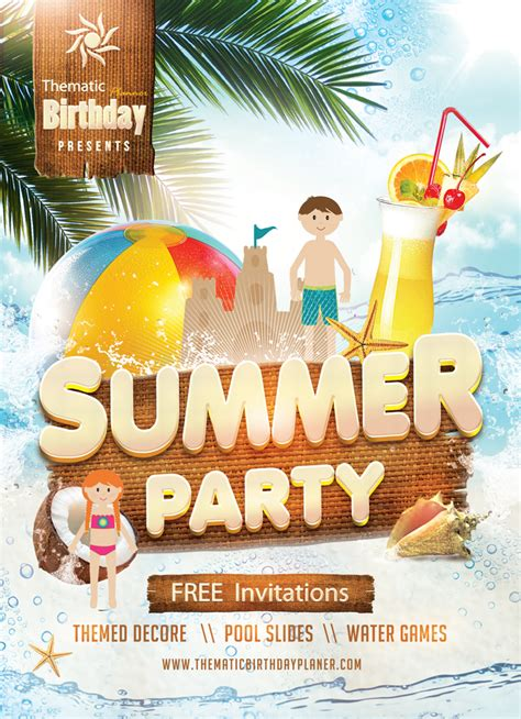 find  summer birthday party planner  lahore pakistan