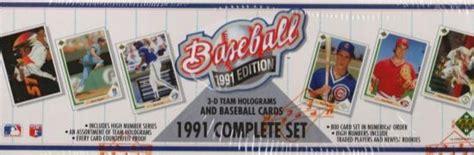1991 The Deck Company by 1991 Deck Baseball Factory Set Da Card World