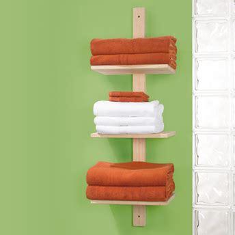 build a 3 tier towel shelf 1 rona