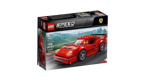 legos  speed champions lineup  loaded  pony cars