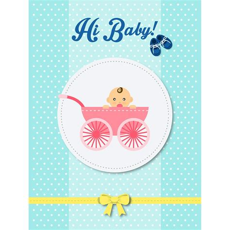 kartu ucapan selamat melahirkan   born baby egrafis