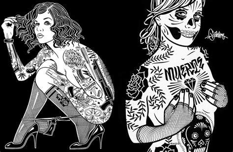 las mujeres tatuadas de mike giant juanmartinbonecom