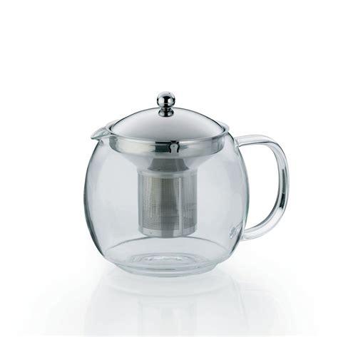 glas teekanne mit sieb kela teekanne glas edelstahl sieb teebereiter bereiter kanne glaskanne ebay