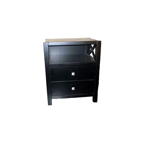 black end tables with storage features