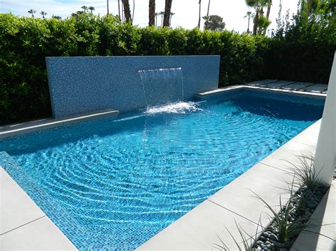 south palm springs pool remodel painted tile