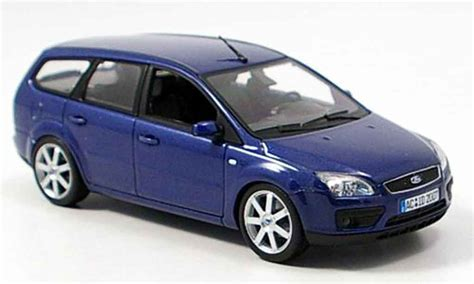 how can i learn about cars 2006 ford fusion interior lighting ford focus miniature turnier bleu 2006 minichs 1 43 voiture miniature com