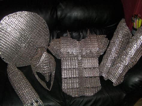 the hobbit dwarve armor template 15 simple pop tab projects
