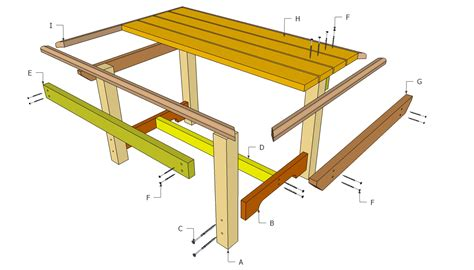 outdoor table plans free outdoor plans diy shed