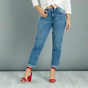 Jean Taille Haute Grande Taille Jean Skinny Noir Taille