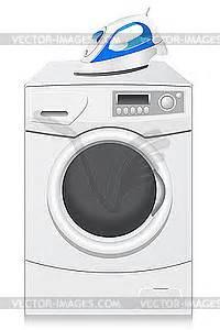 Symbole Auf Waschmaschine : symbole sind eine waschmaschine und b geleisen vektorisiertes clipart ~ Markanthonyermac.com Haus und Dekorationen