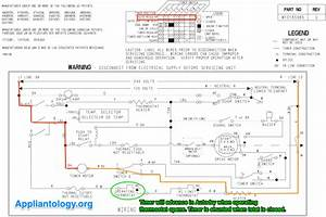 Maytag Medc215ew1 Dryer Schematic Markup For Timer Advance