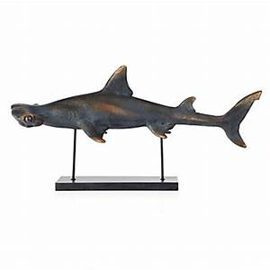 Hammerhead Shark Objects of Art Decor Z Gallerie