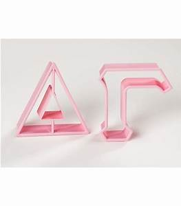 1000 images about delta gammadream girlanchored With mini greek letter cookie cutters