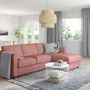Ikea Vimle Erfahrung : vimle 3 zits slaapbank met chaise longue dalstorp ~ Watch28wear.com Haus und Dekorationen