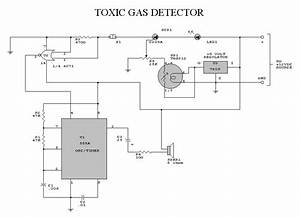 How To Build Toxic Gas Detector And Alarm Circuit With Tgs813